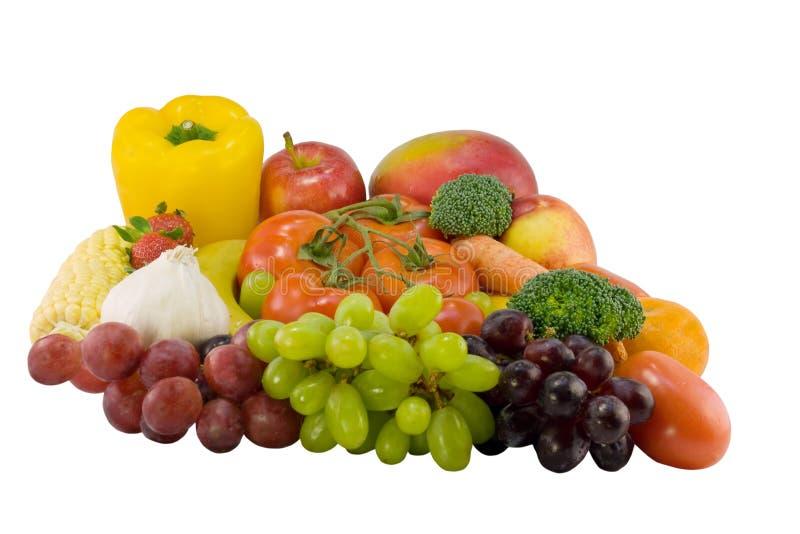 wielki mieszankę owocowy warzyw zdjęcia stock
