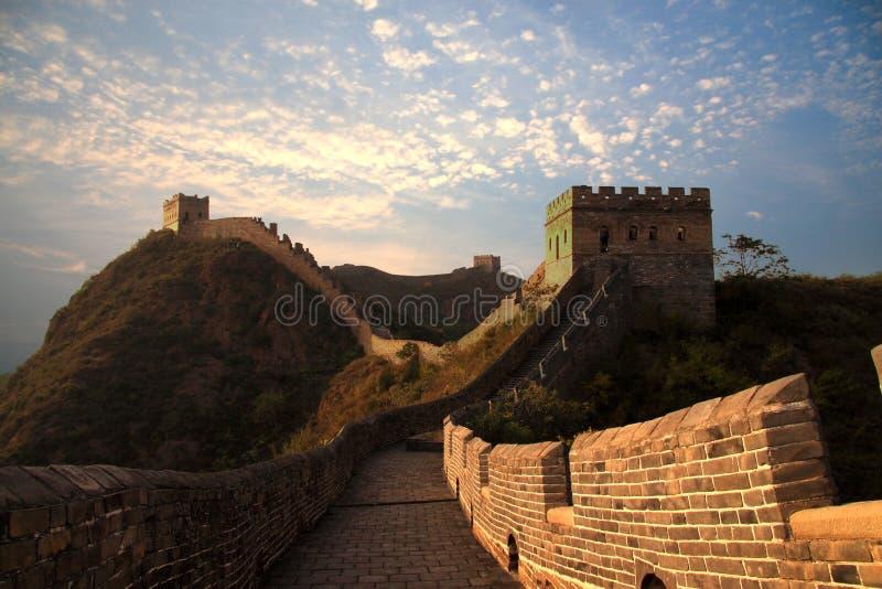 wielki mur obrazy royalty free