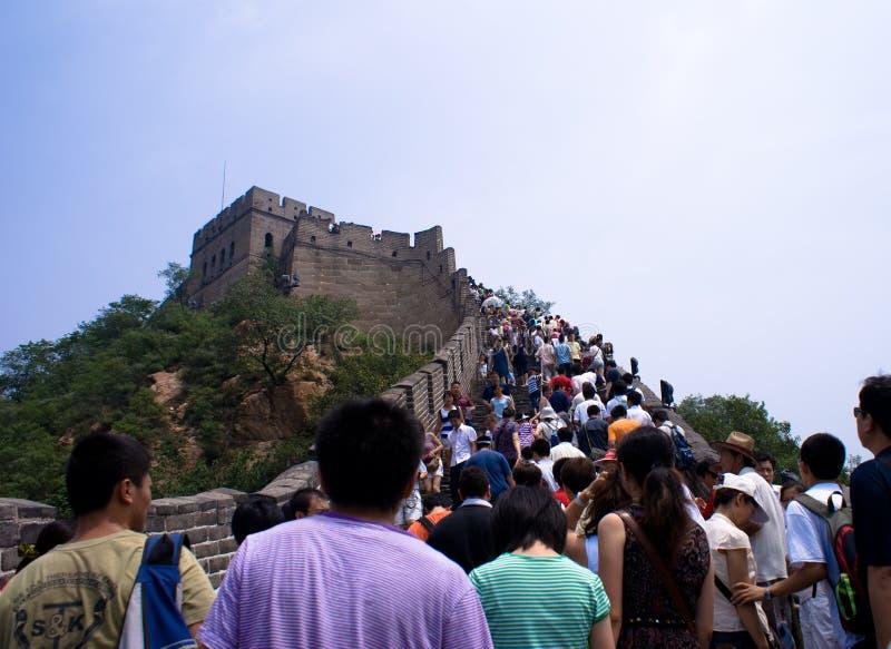 wielki mur. obraz royalty free