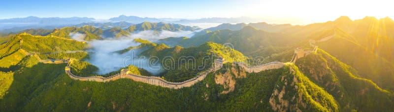 Wielki Mur Chiński zdjęcie stock