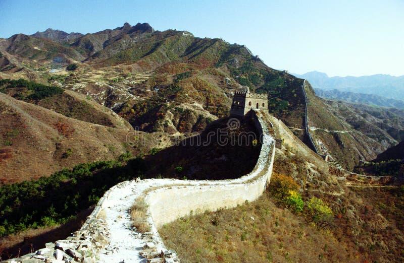 Wielki Mur Chiny zdjęcia royalty free