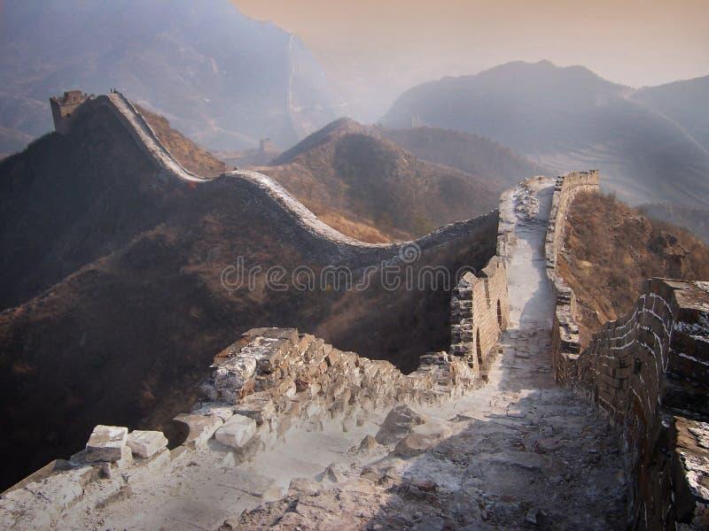 Wielki Mur Chiny fotografia royalty free
