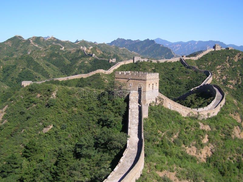 Wielki Mur Chiny obrazy stock
