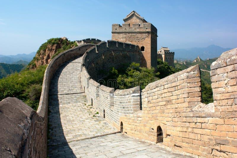 Wielki Mur - Chiny zdjęcie stock