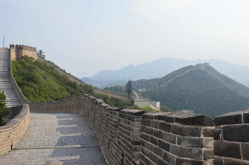 Wielki mur Cina zdjęcia royalty free