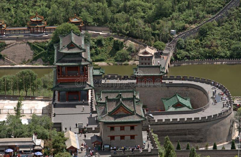 Wielki mur, Juyongguan, Chiny obrazy stock