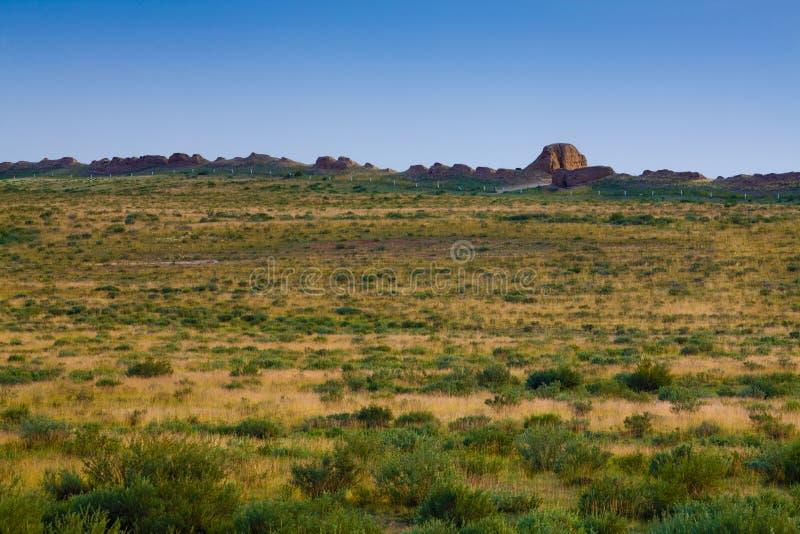 Wielki mur na obszarze trawiasty obrazy royalty free