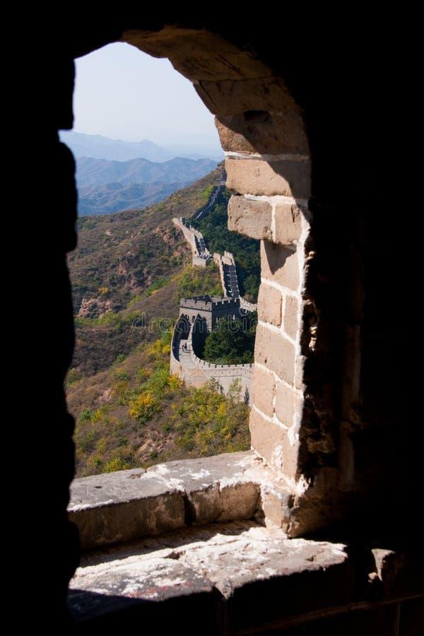 Wielki mur w Chiny fotografia stock