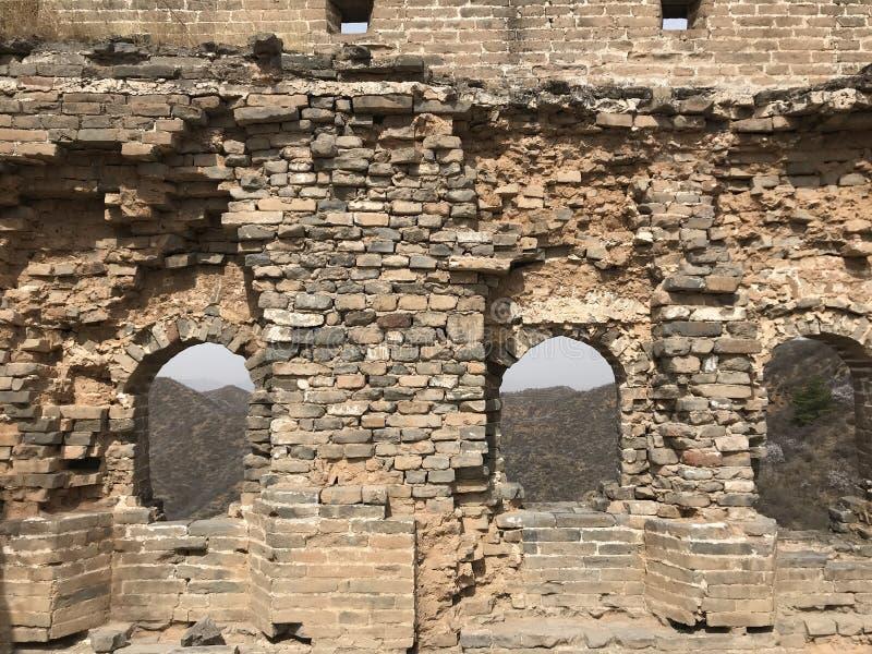 wielki mur obraz royalty free
