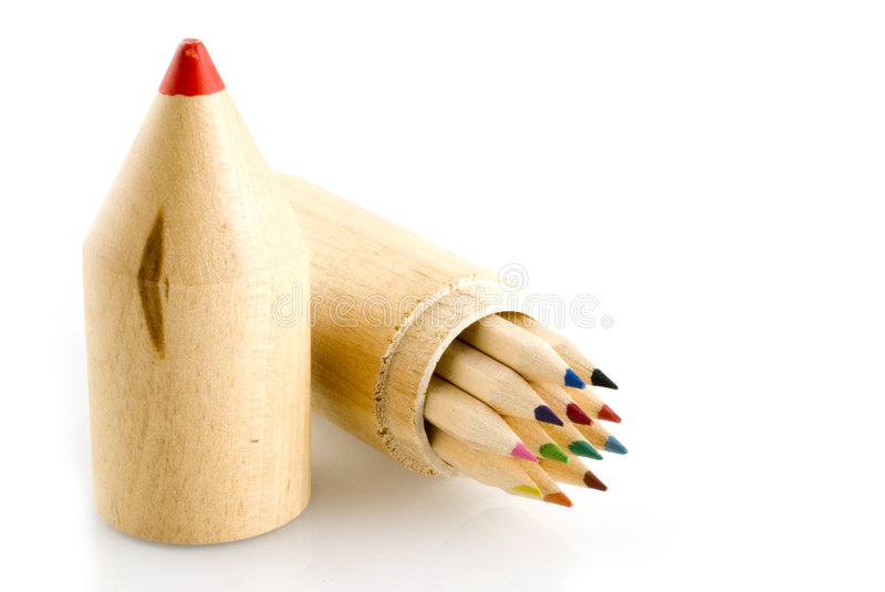 wielki ołówek obraz royalty free