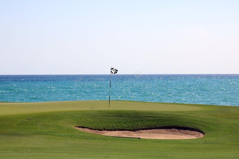 Wielki oceanów kolorów Karaiby plaży golf obrazy royalty free