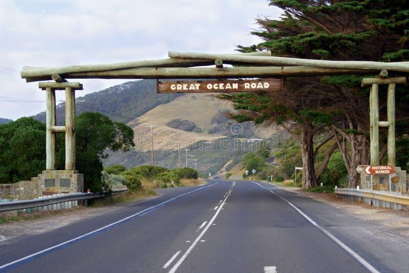 wielki ocean road obraz royalty free