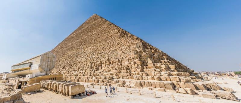 Wielki ostrosłup Giza obraz royalty free