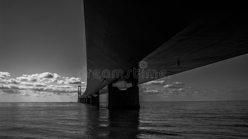 Wielki paska most w Dani obrazy royalty free