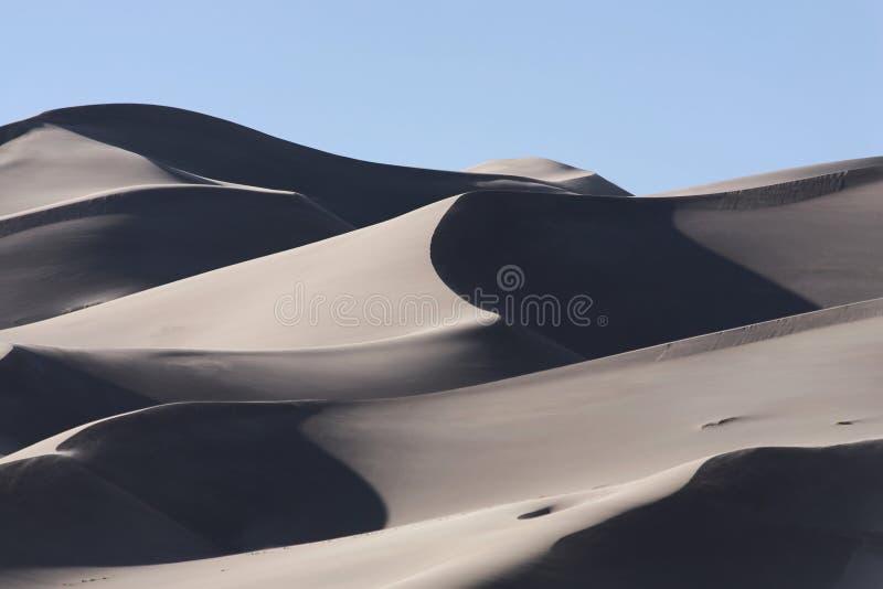 Wielki piasek diun park narodowy zdjęcia royalty free