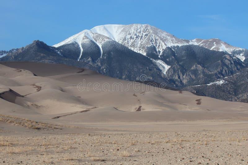Wielki piasek diun park narodowy obraz royalty free