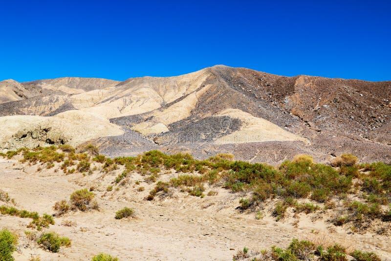 Wielki piasek diuny park narodowy na dniu, Kolorado, usa zdjęcie royalty free