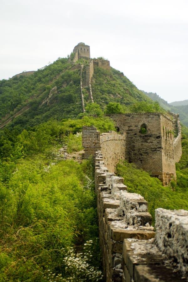 wielki przejścia ruin wierzchołka ściany sposób fotografia stock