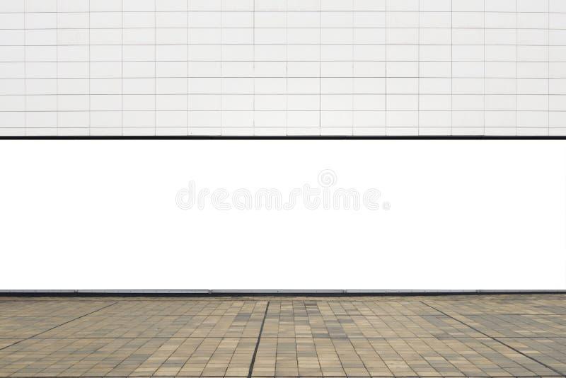 Wielki puste miejsce egzamin próbny up sklep gabloty wystawowej uliczny okno obrazy stock