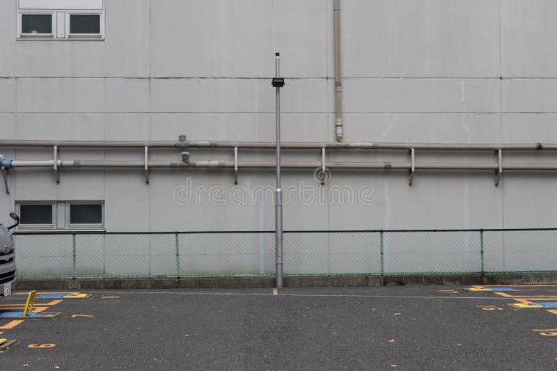 Wielki pusty billboard na ulicznej ścianie fotografia royalty free