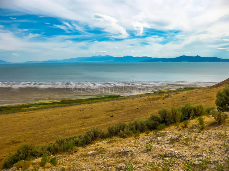 Wielki Salt Lake Utah fotografia royalty free