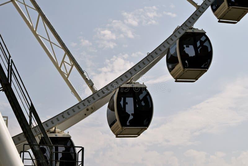 Wielki Seattle Ferris koło obraz stock