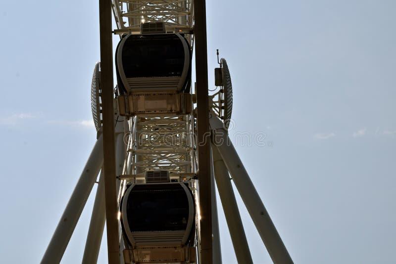 Wielki Seattle Ferris koło obraz royalty free