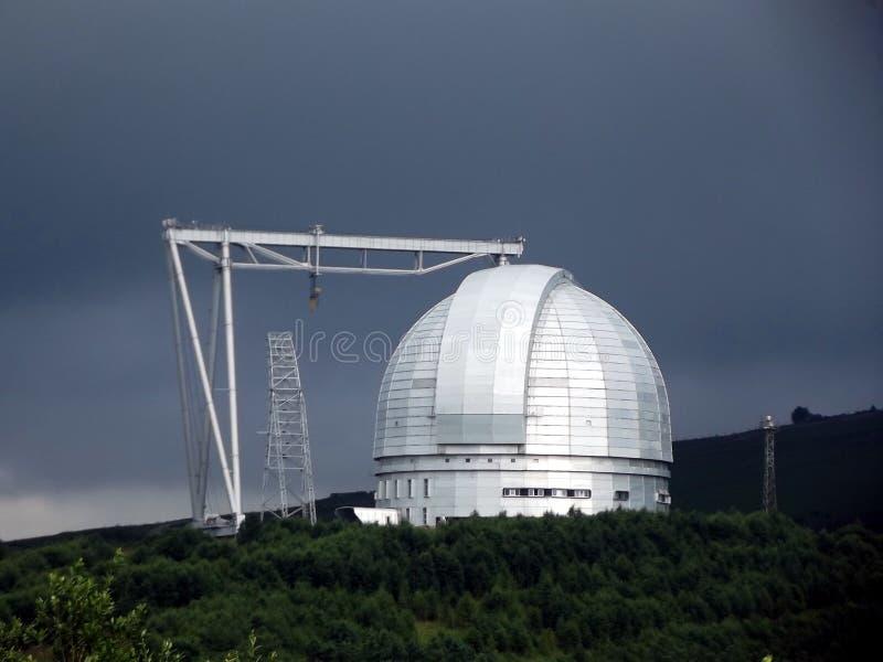 Wielki teleskopu azymut zdjęcie royalty free