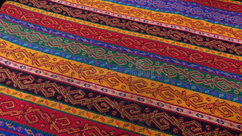 Wielki Tradycyjny Turecki makaty Tablecloth zdjęcia stock