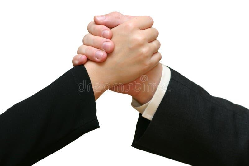 Download Wielki uścisk dłoni pracy obraz stock. Obraz złożonej z ręka - 27497