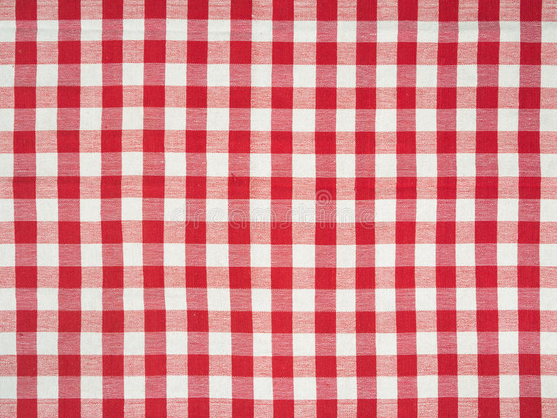 Wielki Włoski tablecloth obraz stock