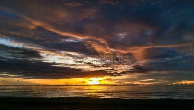 Wielki wschód słońca zdjęcia stock