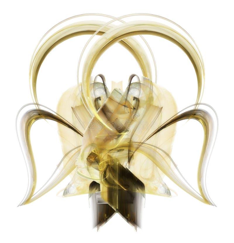 wielki złoty łuk royalty ilustracja