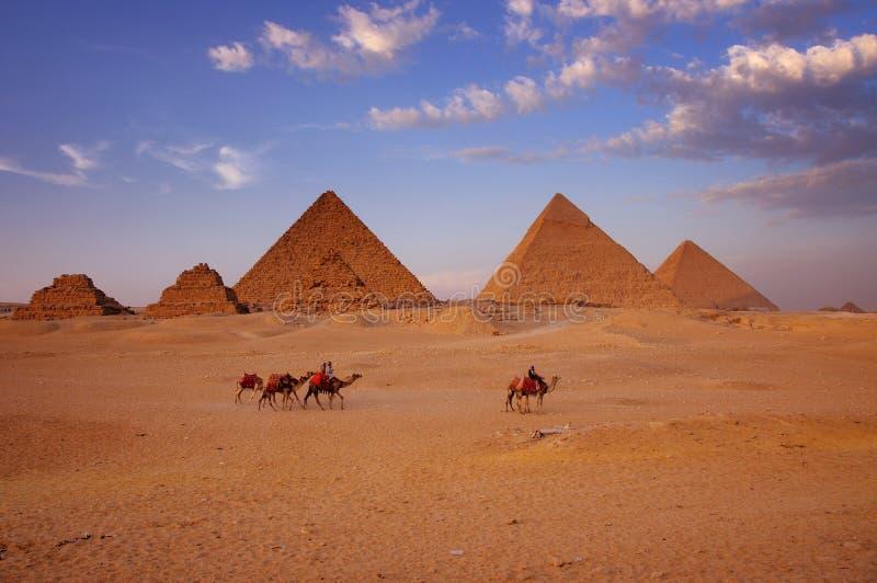 wielkich piramid obrazy stock