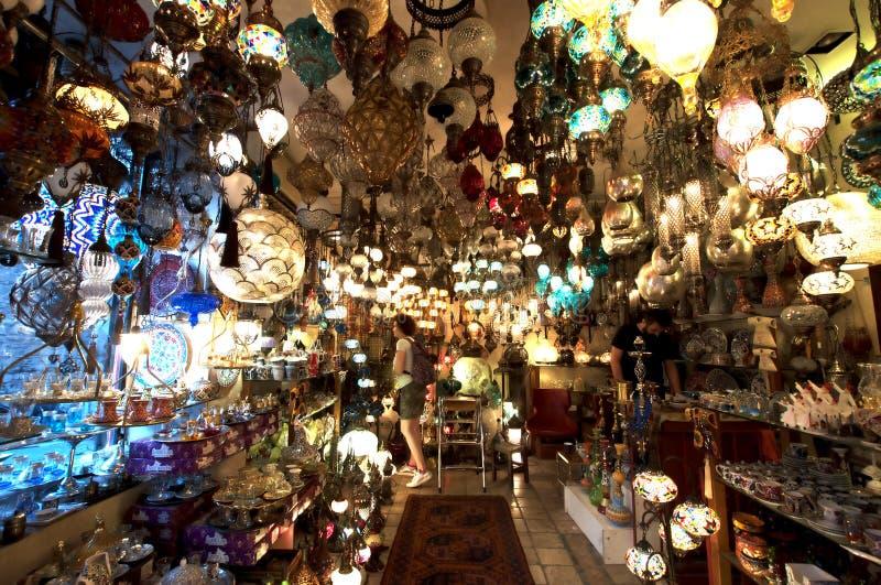 wielkie bazar świateł obraz royalty free