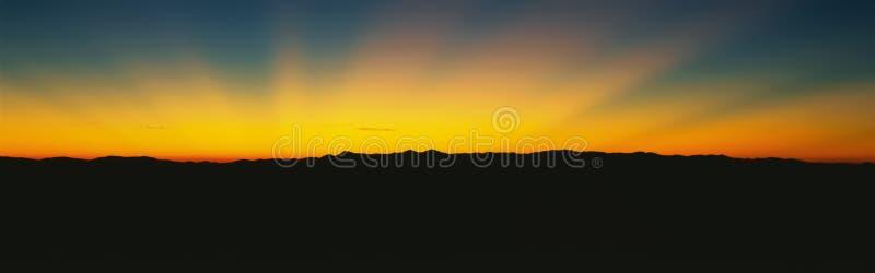 Wielkie Dymiące Góry zdjęcia stock