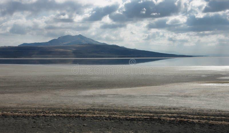 wielkie jeziora soli zdjęcia stock