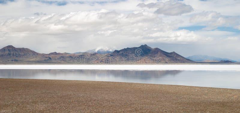 wielkie jeziora soli obraz stock
