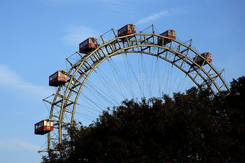 wielkie koło ferris zdjęcia stock