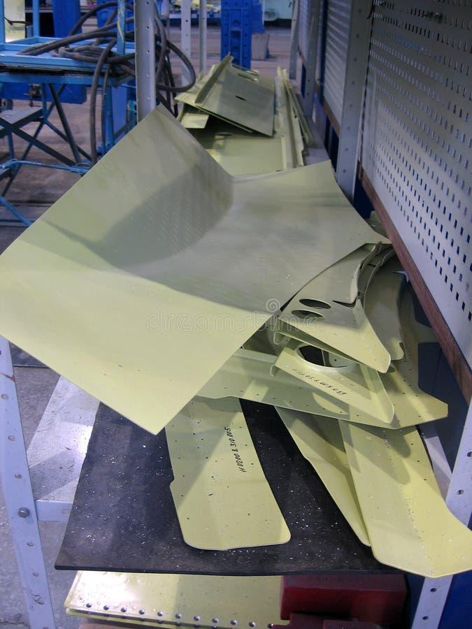 Wielkie metal części pleśnieją w przemysłowej fabrycznej manufakturze zdjęcia stock