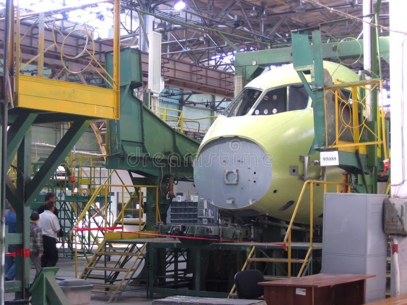 Wielkie metal części pleśnieją w przemysłowej fabrycznej manufakturze zdjęcia royalty free