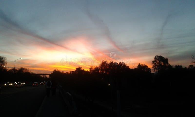 wielkie niebo obrazy stock