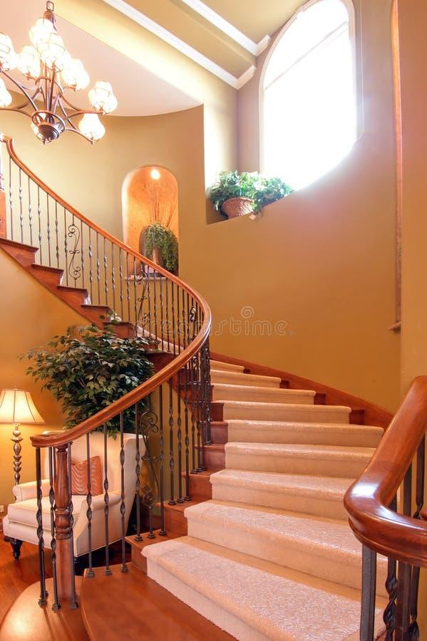 wielkie schody obraz royalty free