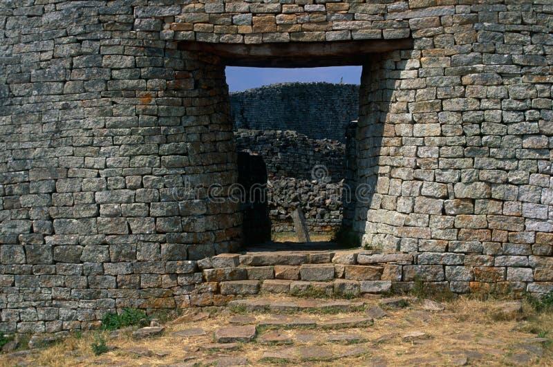 Wielkie Zimbabwe ruiny zdjęcia stock