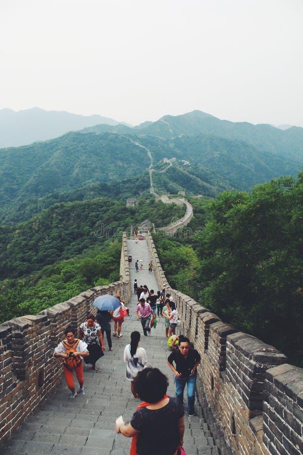 Wielkiego Muru punkt widzenia zdjęcia royalty free