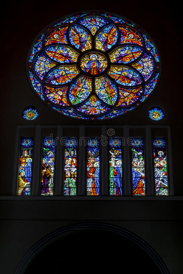 Wielkomiejski Katedralny Fortaleza Brazylia zdjęcie royalty free