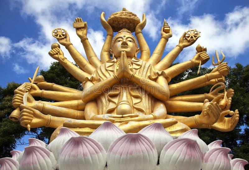 wielo- orężny Buddha zdjęcia royalty free