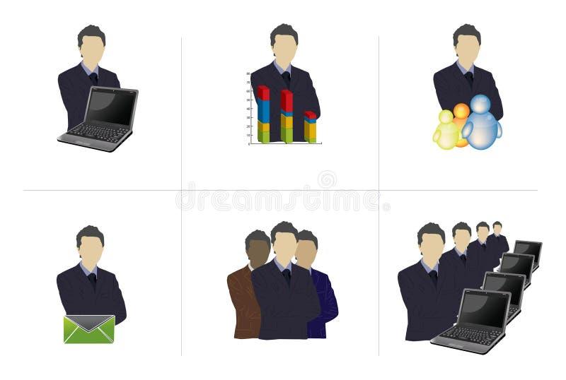 wielo- profesjonaliści ilustracji