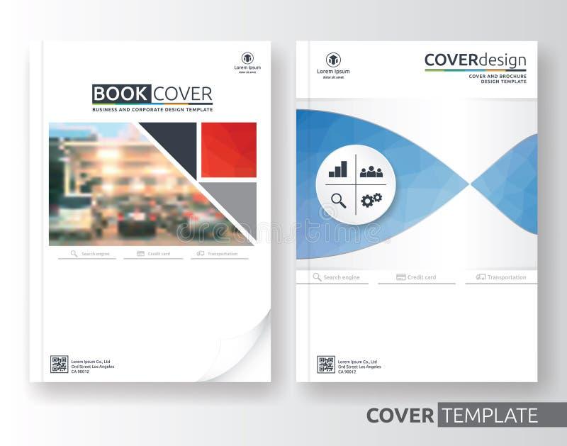 Wielocelowy biznes i korporacyjny ulotka układu projekt ilustracji