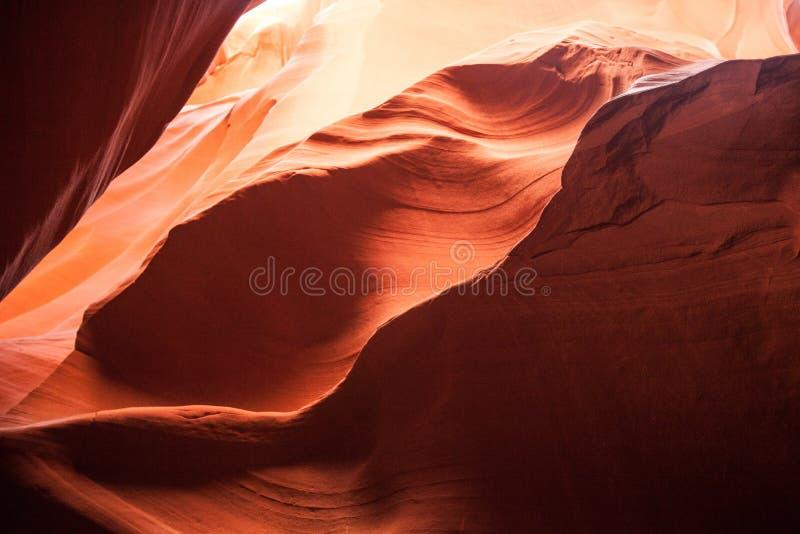 Wielopoziomowa formacja piaskowiec zdjęcie royalty free